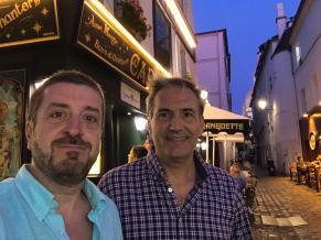 Dr Ramos y Dr Ortega Usobiaga Paris 2019